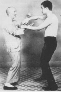 Yip Man Chi Sao mit Bruce Lee