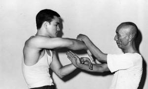 Yip Man und Bruce Lee Chi Sao